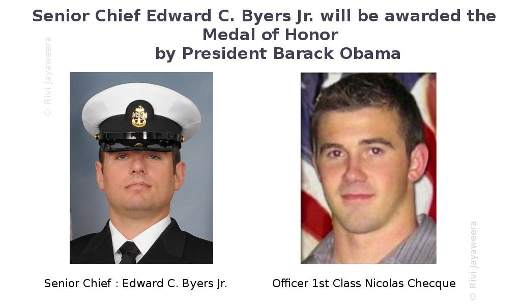 Medel of Honor for Chief Edward C. Byers Jr.